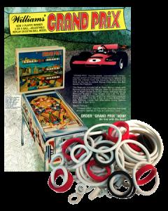 Grand Prix Rubber Set
