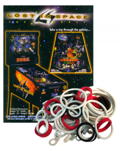 Lost In Space Rubberset