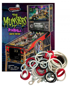 The Munsters Rubber Set