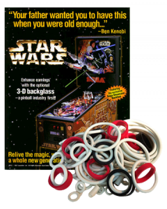 Star Wars Trilogy Rubberset