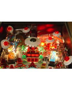 Attack from Mars Mini-Saucer LED Kit RED