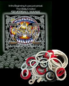 Silverball Mania rubberset