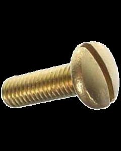 """Screw 10-32 x 5/8"""" Lockbar Brass"""