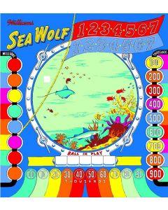 Sea Wolf Backglass