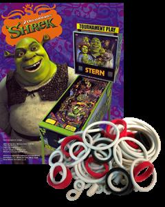 Shrek Rubberset