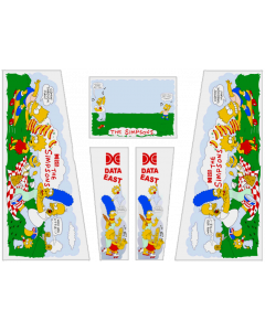 The Simpsons Cabinet Decals