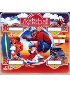 Skateball Backglass