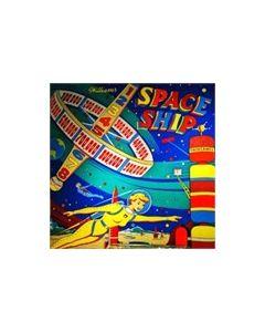 Space Ship Backglass
