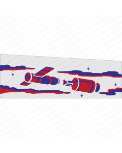 Space Odyssey Stencil Kit