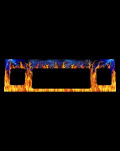 Metallica Speaker Panel Decal Flames