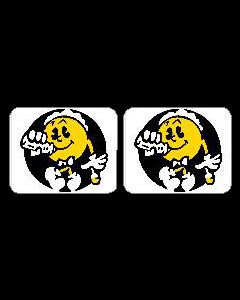 Baby Pac-Man Spinner Decals
