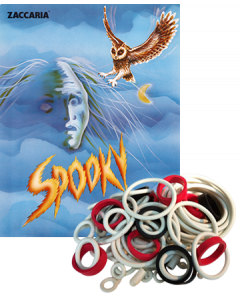 Spooky Rubber Set