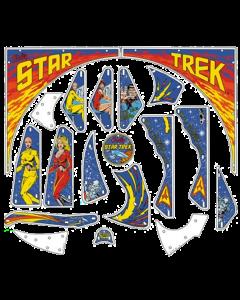 Star Trek Plastic Set