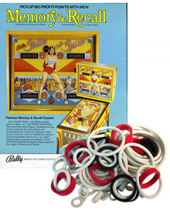 Strikes and Spares Rubberset