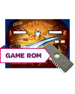 Supersonic CPU Game Rom Set (7-Digit Bootleg)