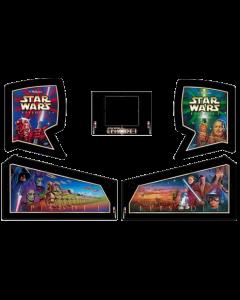 Star Wars Episode 1 Cabinet Decals (Next Gen)