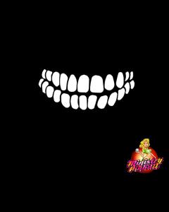 Terminator 2 Teeth Decal