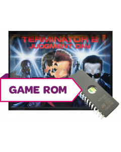 Terminator 2 CPU Game Rom