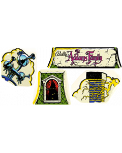Addams Family Cloud Topper Decals