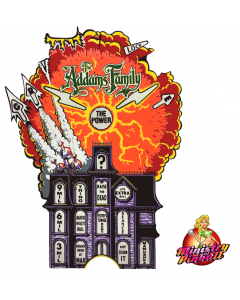 Addams Family Magnet & Mansion Overlay