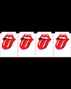 Rolling Stones Decals laminated