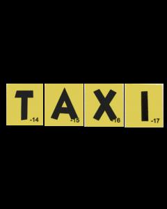 Godzilla Taxi Target Decals