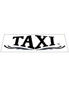 Taxi Topper Decal