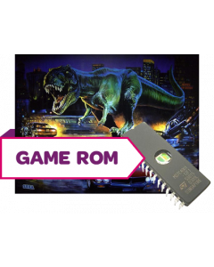 The Lost World Jurassic Park CPU Game Rom