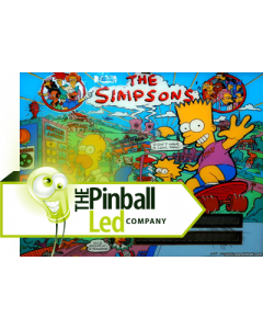 The Simpsons UltiFlux Playfield LED Set