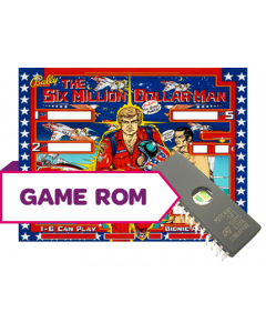 The Six Million Dollar Man CPU Game Rom Set