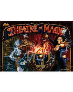 Theatre of Magic Acrylic Backglass