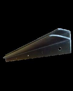 Rear playfield glass molding wide body