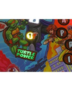 TMNT Turtle Power Oversized Insert Bracket