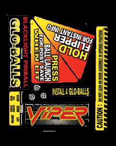 Viper Night Drivin Decal Set