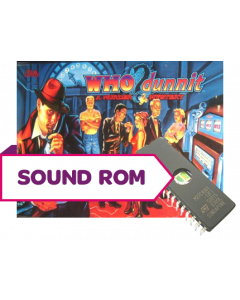 Who Dunnit Sound Rom Set (German)