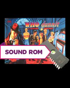 Who Dunnit Sound Rom U3