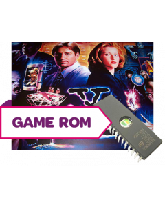 The X-Files CPU Game Rom