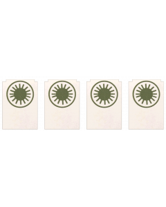 Xenon Target Decals Laminated