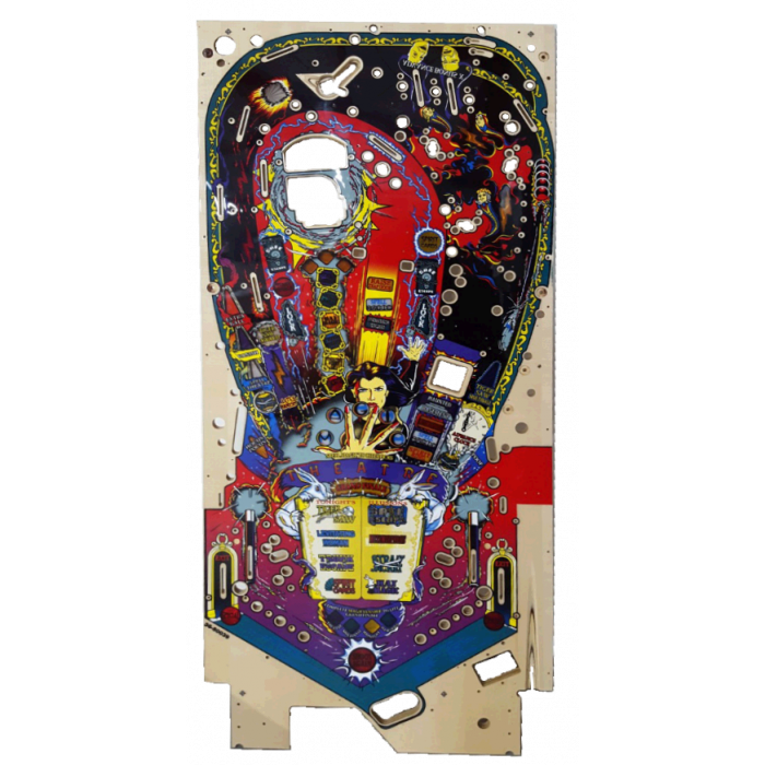 Theatre Of Magic Who Dunnit World Cup Soccer 94 Pinball Machine Start Button New