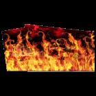 AC/DC Flaming Hot PinBlades