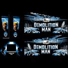 Demolition Man Cabinet Decals (Next Gen)